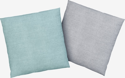 BRUNO BANANI Kissenhülle in pastellblau / pastelllila, Produktansicht
