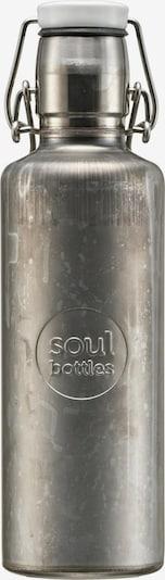 Soulbottles Trinkflasche in grau, Produktansicht