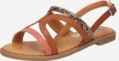MTNG Sandale 'RAINBOW' in braun / karamell / hellbraun / lachs, Produktansicht