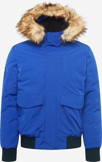 Geacă de iarnă 'EVEREST' Superdry pe albastru / maro deschis / negru, Vizualizare produs