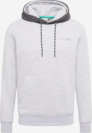 JACK & JONES Majica 'KEVIN' | svetlo siva / temno siva / črna barva, Prikaz izdelka