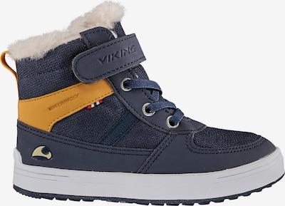 VIKING Sneakers in dunkelblau / gelb, Produktansicht