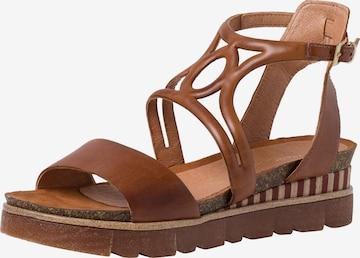 MARCO TOZZI Sandale in Braun