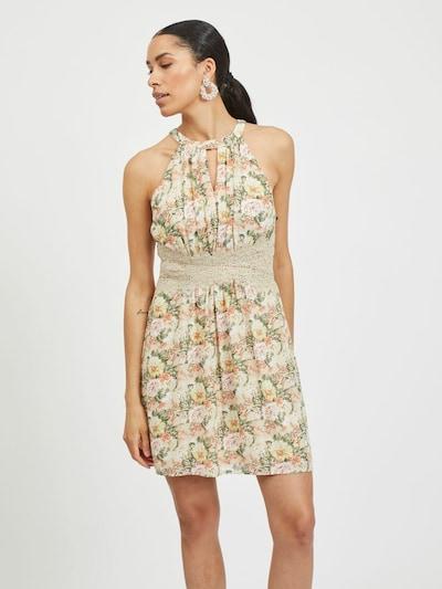 VILA Kleid in beige / mischfarben, Modelansicht