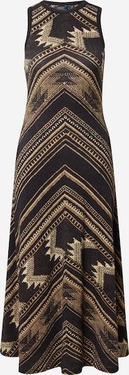 POLO RALPH LAUREN Kleid in beige / gelb / schwarz, Produktansicht