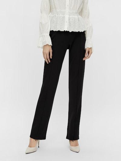 Y.A.S Bügelfaltenhose 'Rico' in schwarz, Modelansicht