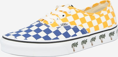 VANS Sneakers laag 'Authentic' in de kleur Blauw / Geel / Groen / Wit, Productweergave