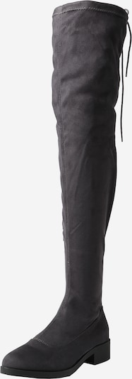 Miss Selfridge Stiefel 'OLIVIA' in dunkelgrau, Produktansicht