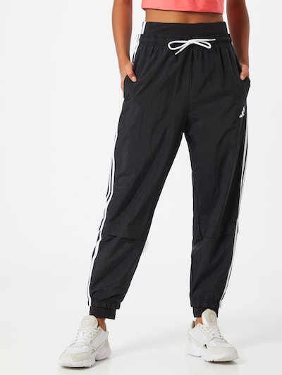 Pantaloni sportivi ADIDAS PERFORMANCE di colore nero / bianco, Visualizzazione modelli