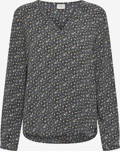 JACQUELINE de YONG Blouse 'Piper' in de kleur Blauw / Geel / Zwart, Productweergave