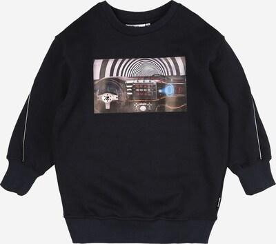 Molo Sweatshirt in navy / schwarz / weiß, Produktansicht