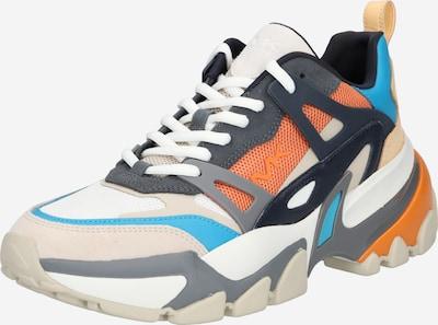 MICHAEL Michael Kors Sneakers laag 'NICK' in de kleur Navy / Turquoise / Lichtgrijs / Donkergrijs / Wit, Productweergave