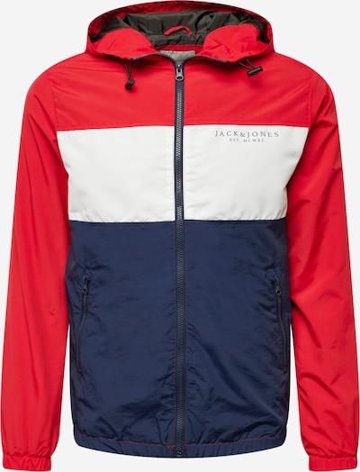 JACK & JONES Between-Season Jacket in Night blue / Red / White, Item view