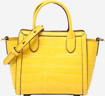 Poșete 'TYLER' de la Lauren Ralph Lauren pe galben