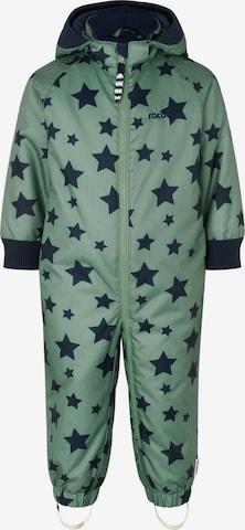 Costume fonctionnel 'Konrad' Racoon Outdoor en vert