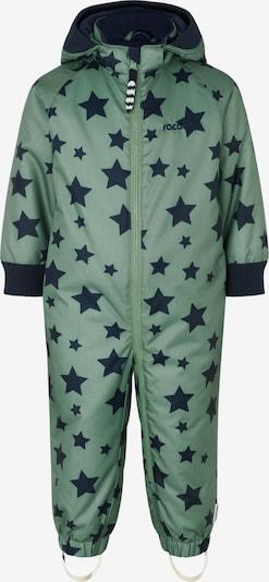 Racoon Outdoor Functioneel pak 'Konrad' in de kleur Navy / Lichtgroen, Productweergave