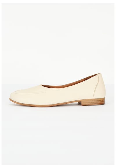 INUOVO Slipper in creme, Produktansicht