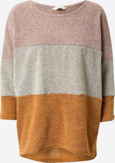 ONLY T-shirt 'ALBA' i brun / grå / rosé, Produktvy