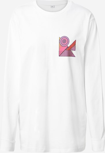 Tricou Merchcode pe alb, Vizualizare produs