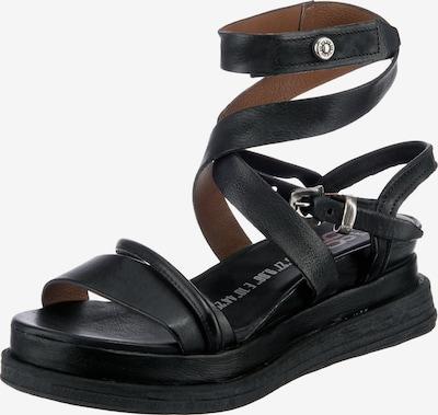 A.S.98 Sandales à lanières 'LAGOS' en noir, Vue avec produit