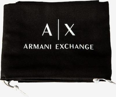 ARMANI EXCHANGE Trousses de toilette en noir / blanc, Vue avec produit