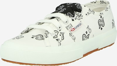 SUPERGA Zemie brīvā laika apavi '2750' melns / balts, Preces skats