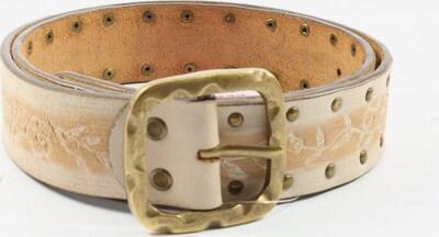 JONES Ledergürtel in XS-XL in nude / wollweiß, Produktansicht