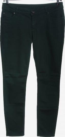 HALLHUBER Skinny Jeans in 32-33 in grün / schwarz, Produktansicht
