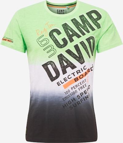 CAMP DAVID Paita värissä yönsininen / vihreä / oranssi / valkoinen, Tuotenäkymä