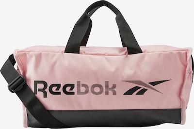 REEBOK Sporttasche in pastellpink / schwarz, Produktansicht