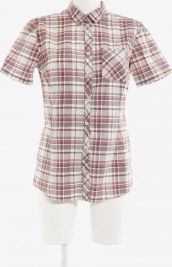 Schöffel Kurzarm-Bluse in M in creme / hellbraun / magenta, Produktansicht