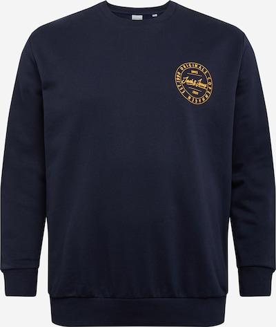 Megztinis be užsegimo 'MOVE' iš Jack & Jones Plus , spalva - tamsiai mėlyna / aukso geltonumo spalva, Prekių apžvalga