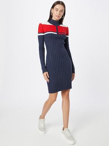 Tommy Jeans Kootud kleit, värv sinine