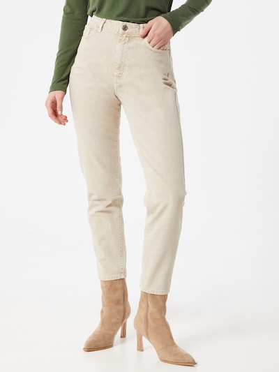 Gina Tricot Jeans 'Dagny' in de kleur Wit, Modelweergave