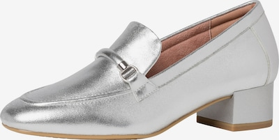TAMARIS Slipper in silber: Frontalansicht