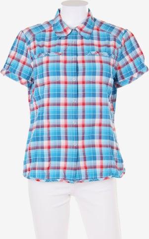 Schöffel Bluse in L in Blau