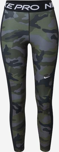 NIKE Sportske hlače u siva / maslinasta, Pregled proizvoda