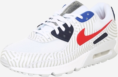Nike Sportswear Sneakers laag in de kleur Navy / Grijs / Rood / Wit, Productweergave