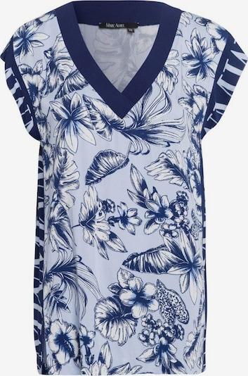 MARC AUREL Bluse in blau / hellblau / weiß, Produktansicht
