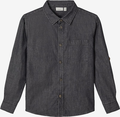 NAME IT Hemd in black denim, Produktansicht