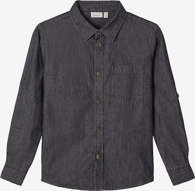 NAME IT Overhemd in de kleur Black denim, Productweergave