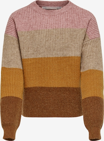 KIDS ONLY Sweater 'Sandy' in mottled beige / mottled brown / mottled orange / mottled pink, Item view