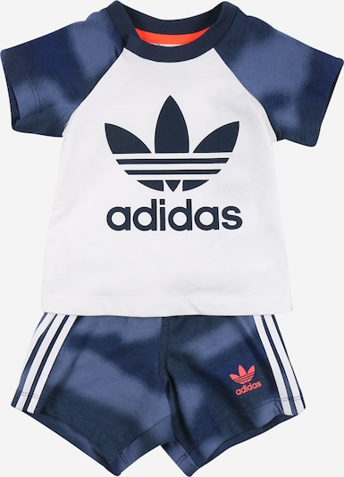 ADIDAS ORIGINALS Jogginganzug in navy / weiß, Produktansicht