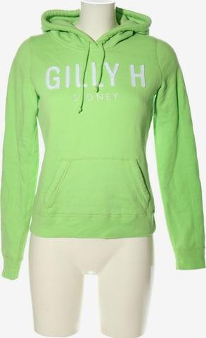 Gilly Hicks Sweatshirt & Zip-Up Hoodie in S in Green