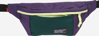 Borsetă LEVI'S pe verde iarbă / mov închis, Vizualizare produs