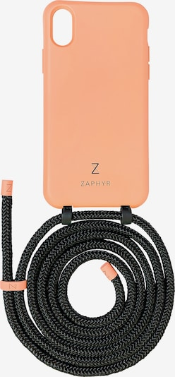 ZAPHYR Handyhülle mit Handykette 'iPhone XS Max' in orange / schwarz, Produktansicht