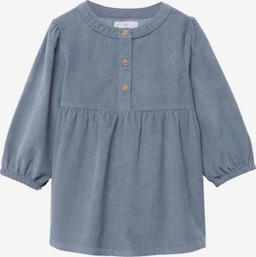 MANGO KIDS Kleid 'Abby' in Blau