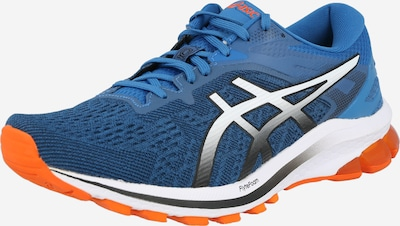 ASICS Running shoe in blue / black / silver, Item view