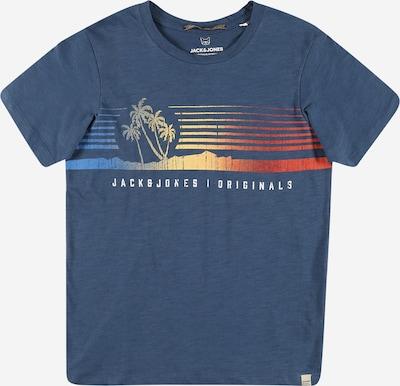 Jack & Jones Junior T-Shirt 'Laguna' en marine / mélange de couleurs, Vue avec produit