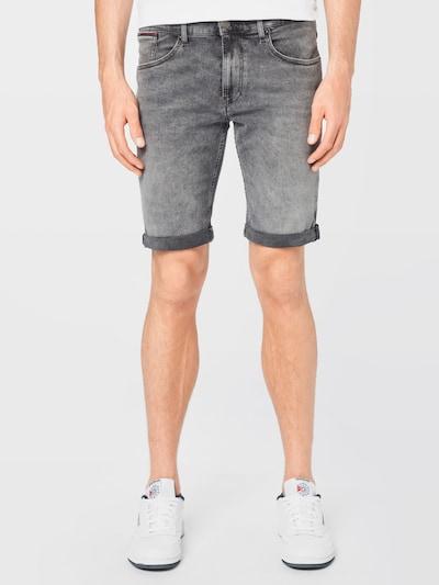 Tommy Jeans Džínsy 'RONNIE' - tmavomodrá / sivý denim / červená / biela, Model/-ka